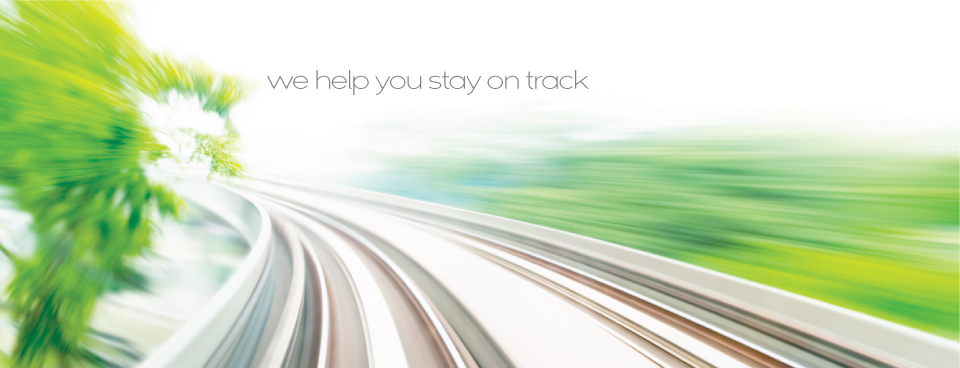We Help You Stay on Track