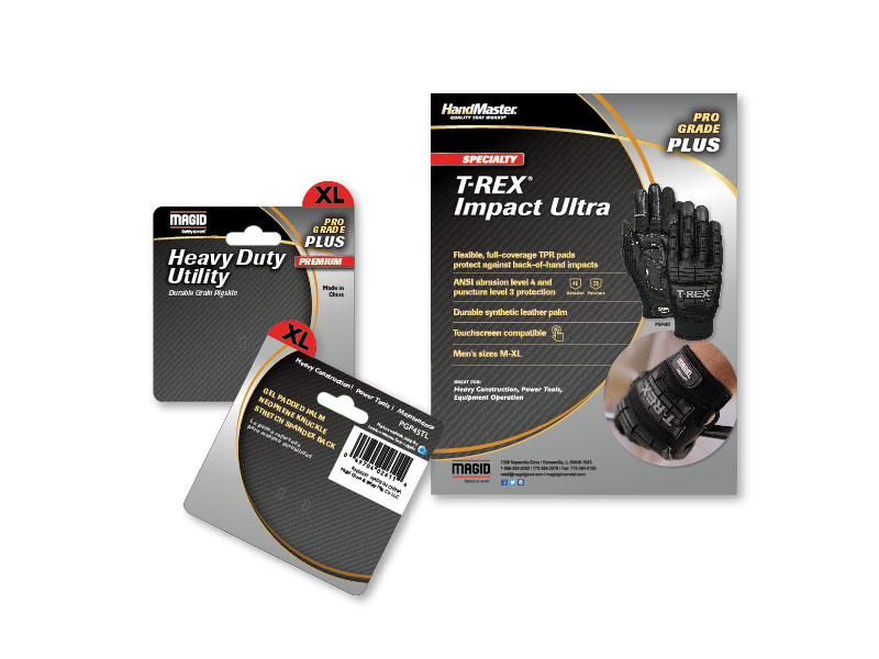 Magid Glove and Safety product tags and promo