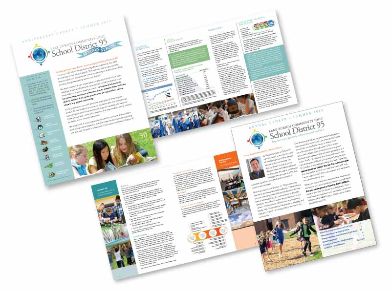 School District 95 annual newsletter